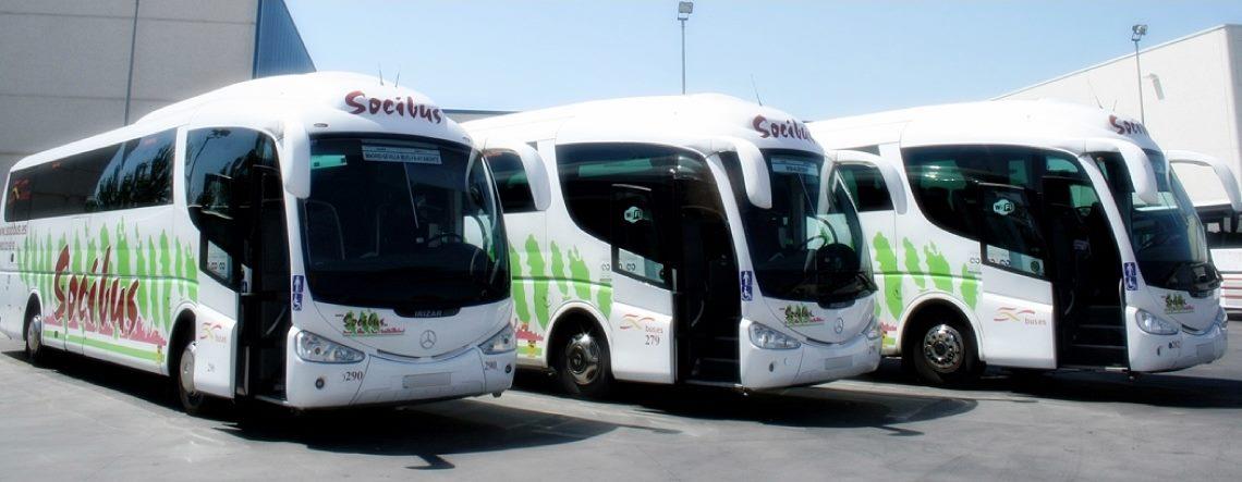 Alquiler de autobuses Socibus