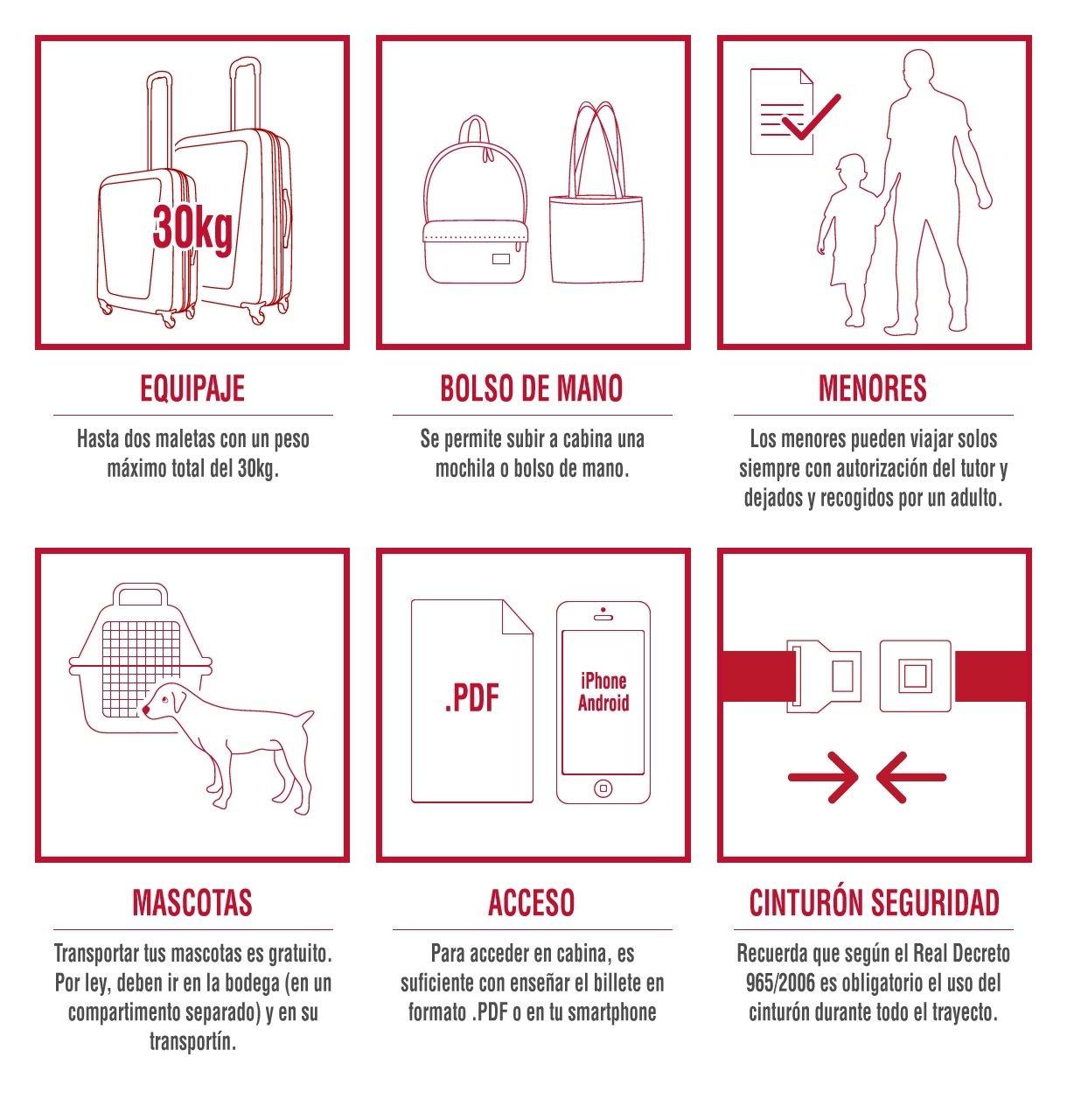 Socibus Reglamento de viajeros